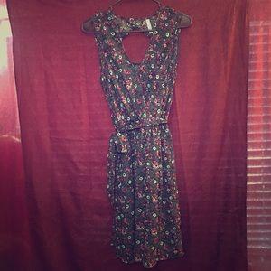 Xhilaration Floral Dress M